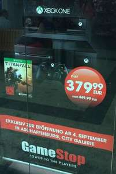 [Lokal Aschaffenburg] Xbox One + Kinect + Titanfall am 04. Septmber