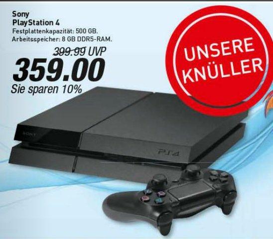 [Regional??] Sony Playstation 4 für 359 Euro bei Marktkauf