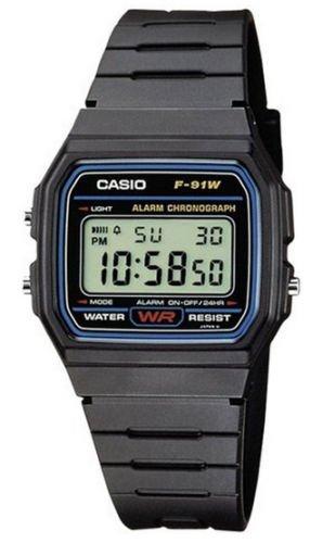 eBay - Casio Herren-Armbanduhr Digital Quarz F-91W-1YEF für 7,49€ + Preisvorschlag