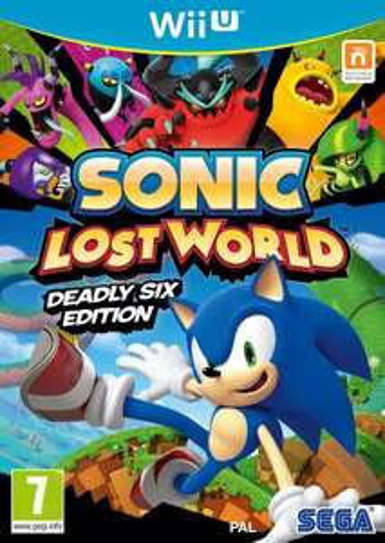 Nintendo Wii U - Sonic Lost World (Deadly Six Edition) für €22,74 [@Zavvi.com]