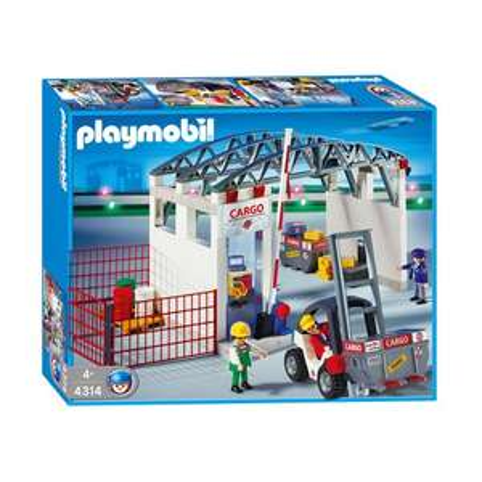 Playmobil™ - Cargohalle mit Gabelstapler (4314) ab €24,95 [@Real.de]
