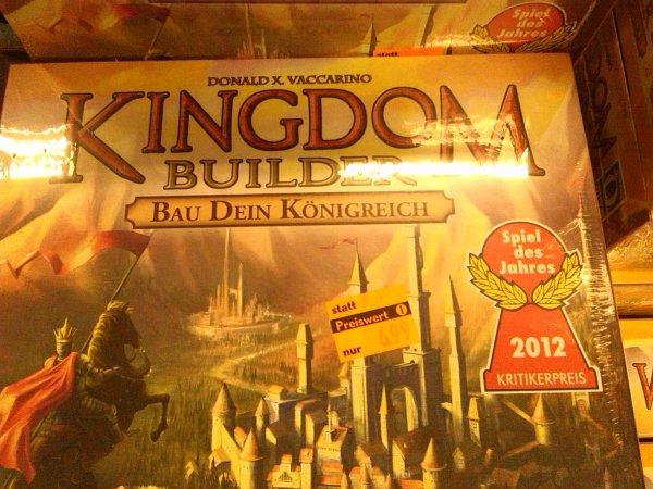 (lokal) Kingdom Builder - Bau Dein Königreich @ Hugendubel (am Stachus in München)