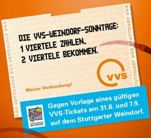 [Stuttgarter Weindorf] - 1 Viertele zahlen, zwei bekomnen