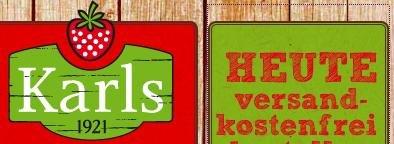 Karls Erdbeerhof - Heute versandkostenfrei - Familienpackung Erdbeertraum für 9€