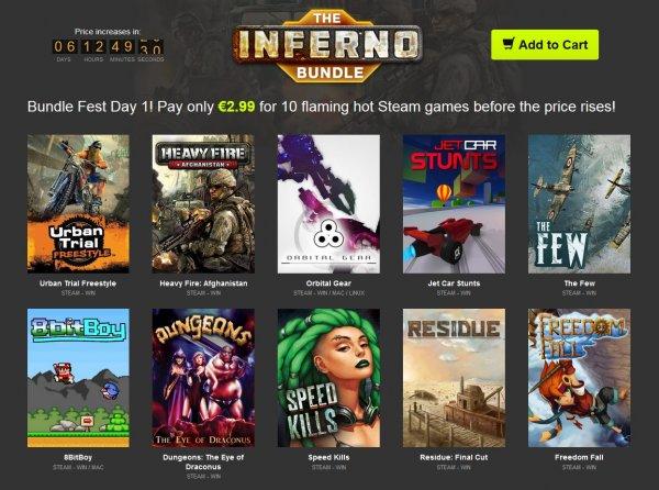 [Steam] The Inferno Bundle 3,59€ / 2,99€ @ Bundle Stars