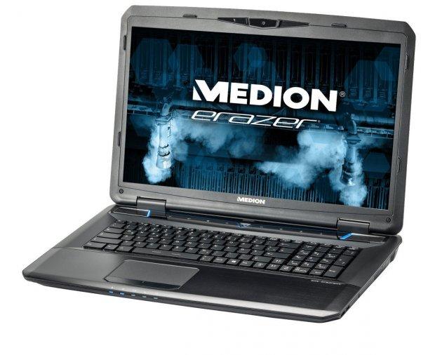 """Medion Erazer X7826 (i7-4700MQ, GTX 770M, 8GB RAM, 64GB SSD/ 1TB HDD, 17,3"""" matt FHD, Windows 8) - B-Ware - 799,99€ @ Medion/amazon"""