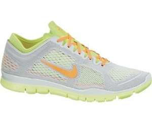 Nike Free TR Fit 4 grau/orange/grün 39-42,5