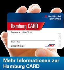 [Hamburg] Hamburg CARD: 1-Tages-Gruppenkarte für bis zu 5 Personen (statt 15,50€)