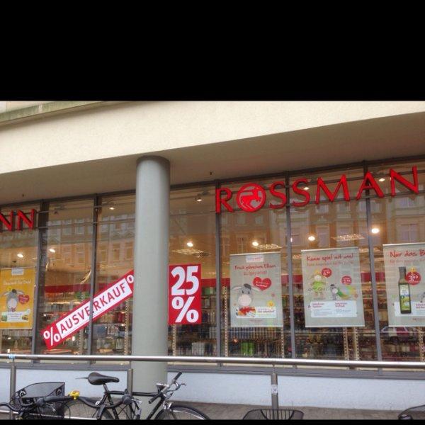 [lokal Leipzig] Rossmann Dresdner Str. 25% Rabatt auf (fast) alles