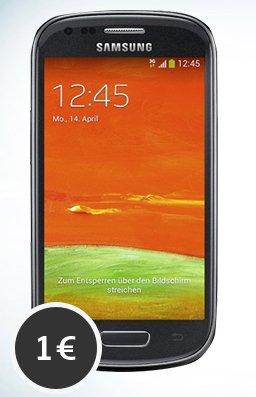 S3 Mini für 1€ (wenn man in 12 Monaten 150€ verbraucht - rechnerisch 12,50€)
