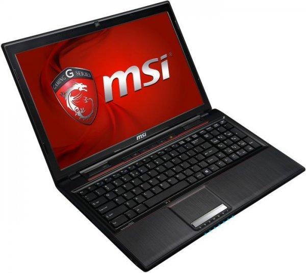 """MSI GP60-2PEi585FD 15.6"""" mit i5-4200H, Geforce 840M und ohne Betriebssystem @ Comtech für 589€ [Qipu-Preis  577,22€]"""