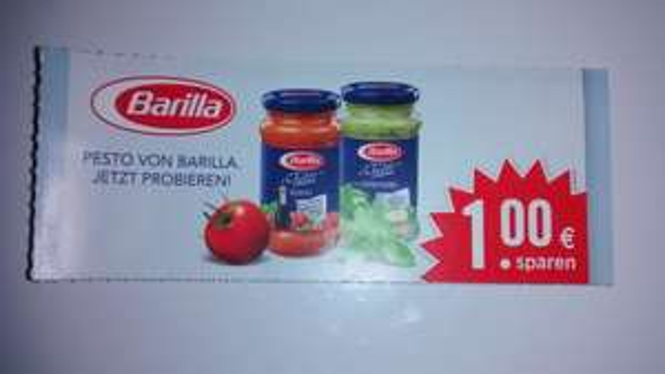 (Edeka Süd) Barilla Pesto im Angebot + 1€-Coupon