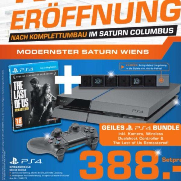 [lokal] Wien Sony PS4 + Last of us + Kamera