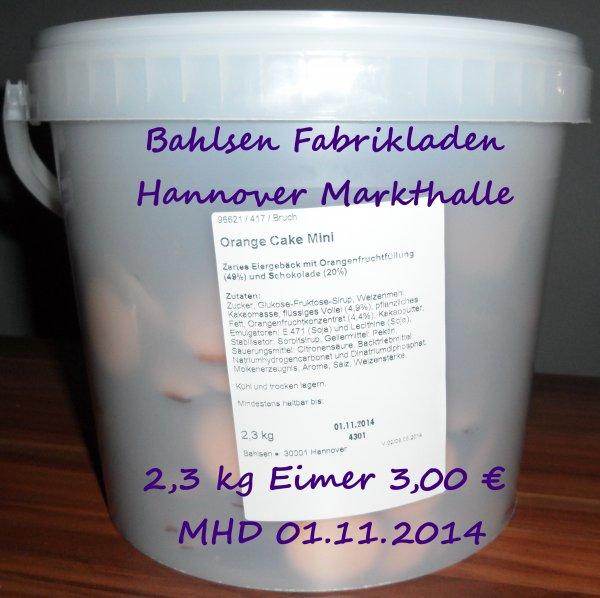 Lokal Hannover  2,3 kg Orange Cake Mini ( Messino) Bahlsen Outlet Markthalle