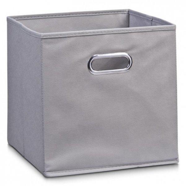 Aufbewahrungsbox/Dekobox 28x28x28cm von Zeller aus Vlies, Farbe grau für nur 2,59 Euro (Amazonpreis 9,96€)
