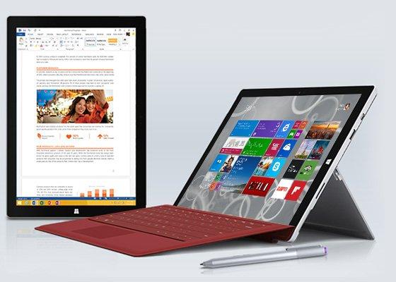 Surface Pro 3 i3 für Studenten mit Studentenrabatt und Qipu für  670,76€