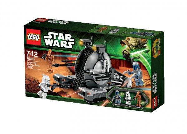 Lego™ - Star Wars: Corporate Alliance Tank Droid (75015) ab €14,56 [@Karstadt.de]