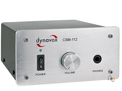 Dynavox Kopfhörerverstärker CSM-112 Silber für 60,95 Euro inkl. Versand