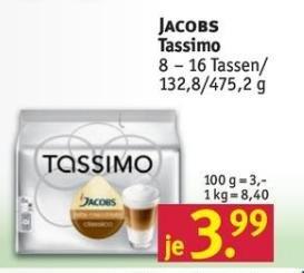 Rossmann Jacobs Tassimo T-Discs