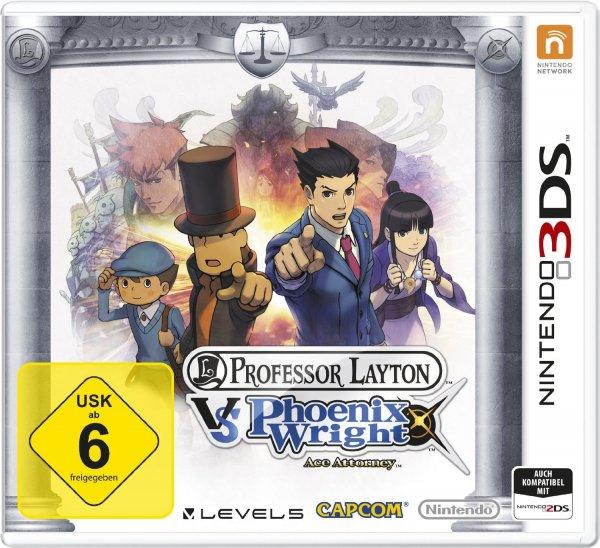 Professor Layton vs. Phoenix Wright (3DS) @ eBay (Saturn Berlin)