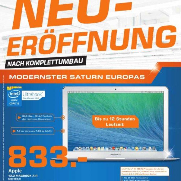 """Saturn Salzburg: MacBook Air 13.3"""" MD760D/A"""