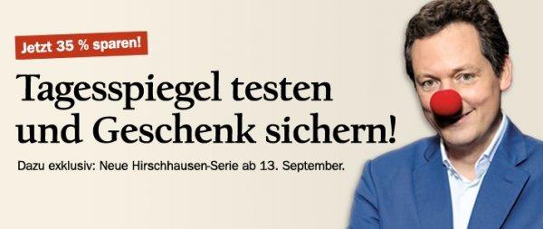 Tagesspiegel: 4 Wochen für 23,80€ + 20€ Zalando Gutschein (alternativ Smoothie-Maker oder Pulsuhr)