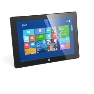 "CSL Panther Tab 10 inkl. Windows 8.1 - 10.1"" (25,6cm) Tablet, Intel QuadCore 4x 1.3GHz, 2GB RAM, 32GB SSD"