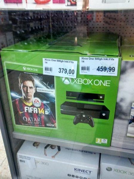 [Marktkauf Voerde] Xbox One 500 GB + Fifa 14+ Kinect