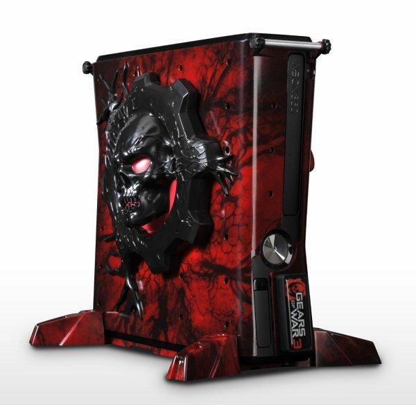 Xbox 360 - Gears of War 3 Konsolenhülle für 25€ @ebay