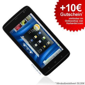 Dell Streak Mini 5 für 219€ + 10€ Gutschein für z.B. Ipod oder HP Drucker
