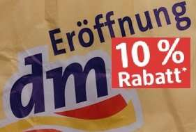 [lokal] Neueröffnung dm-Markt Berlin Wedding - 10% auf alles und andere Aktionen