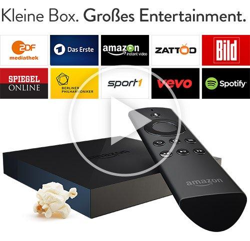 Amazon Fire TV - jetzt vorbestellbar - 49,- Euro für Prime-Kunden, normal 99,-