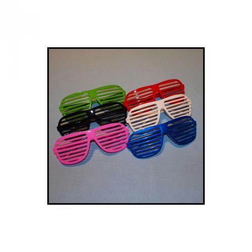 1€ Partybrille (Atzenbrille,LSD-Brille) in vielen verschiedenen Farben aus Hong Kong