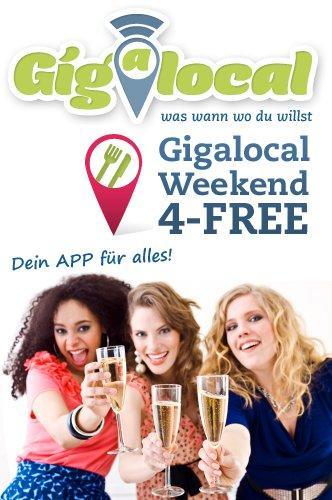 Berlin: HEUTE komplett gratis Sekt und Schokolade nach Hause geliefert von Gigalocal