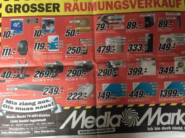 [Lokal Ingolstadt] Media Markt Rausverkauf Gran Turismo 6 und Beyond Two Souls PS3 je 10€