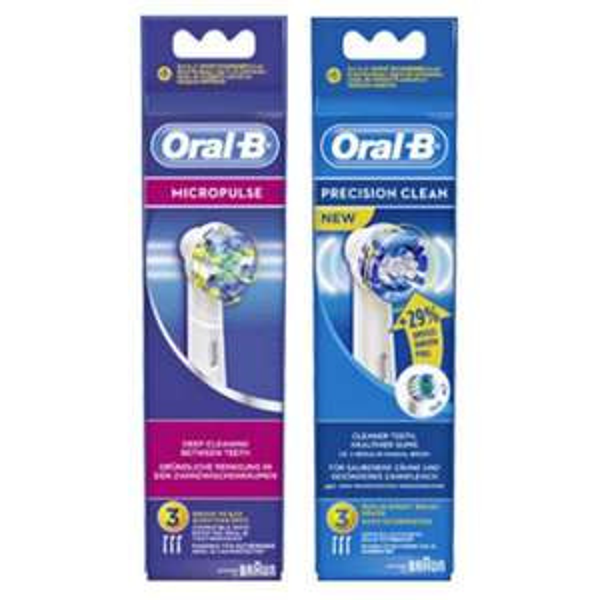 [BAYERN] Marktkauf: Oral-B 3er/4er-Pack Aufsteckbürsten für 3,99€