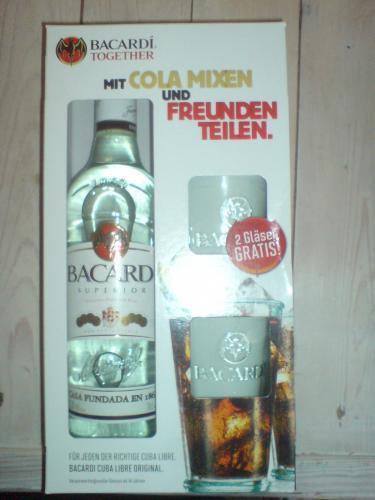 [Lokal] Bacardi weißer Rum inklusive 2 Longdrink Gläser bei Kaufland [Hannover]