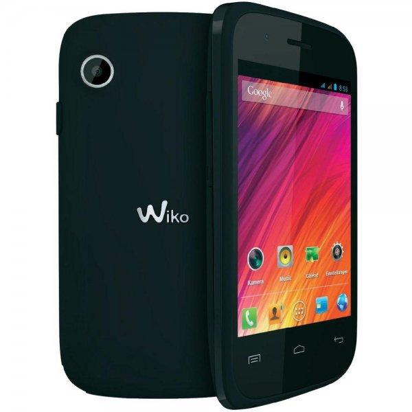 Wiko Ozzy Schwarz Dual-Sim Smartphone ab 42,62€ @Conrad