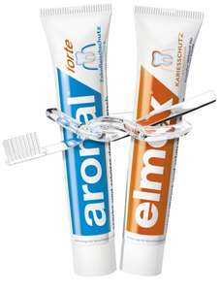 [MÜLLER] 2x Aronal/Elmex/Meridol-Zahnpasta 75ml für 1,24€/Stück bzw. 2x Elmex Junior 75ml  0,90€/Stück