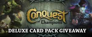 Conquest of Champions Deluxe Card Pack DLC (Steam)