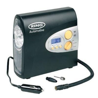 Vollautomatischer digitaler Luft-Kompressor 12V inkl. LED-Lampe für ~25,76€ inkl. Versand @amazon.uk