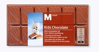 Migros Kids Chocolate: 0,99€ bezahlen und 150 Bonusbox- Punkte (1,50€) erhalten