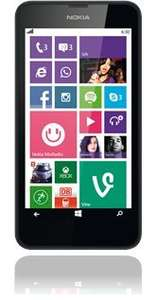 Nokia Lumia 630 Single-SIM, black @ Base 99€