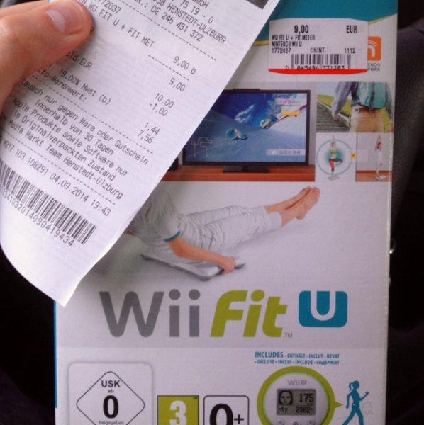 Wii Fit U + Schrittzähler - MediaMarkt Henstedt-Ulzburg