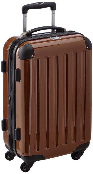 HAUPTSTADTKOFFER Koffer Alex, 55 cm, 45 Liter, mocca/braun, evtl für Handgepäck geeignet