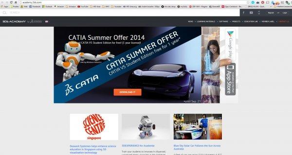 Dassault Systems CATIA V5 (3D Konstruktion) für 0€ anstatt 99€ (Student Edition)