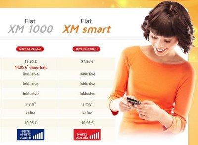 simdiscount  o2 Flat XM 1000 allnet/sms flat 1GB internet  14,95 € / mo plus günstige EU option! 1,20€ / Monat ohne MVLZ auch D2= 27,85