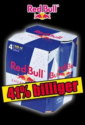 [NORMA BUNDESWEIT] 4x Red Bull für 0,87€/Stück am 12.+13.09.2014