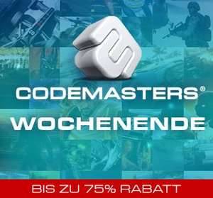 Codemaster Steam Weekend! Bis zu -75% Rabattiert!
