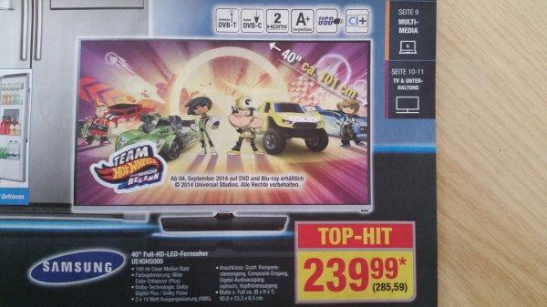 [Metro] Samsung UE40H5000 LED-Fernseher